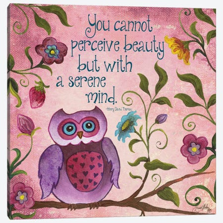 I Owl You II Canvas Print #EME144} by Elizabeth Medley Art Print