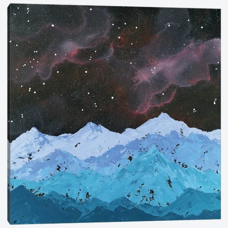 Space Mountains Canvas Print #EME15} by Emily Magone Canvas Print