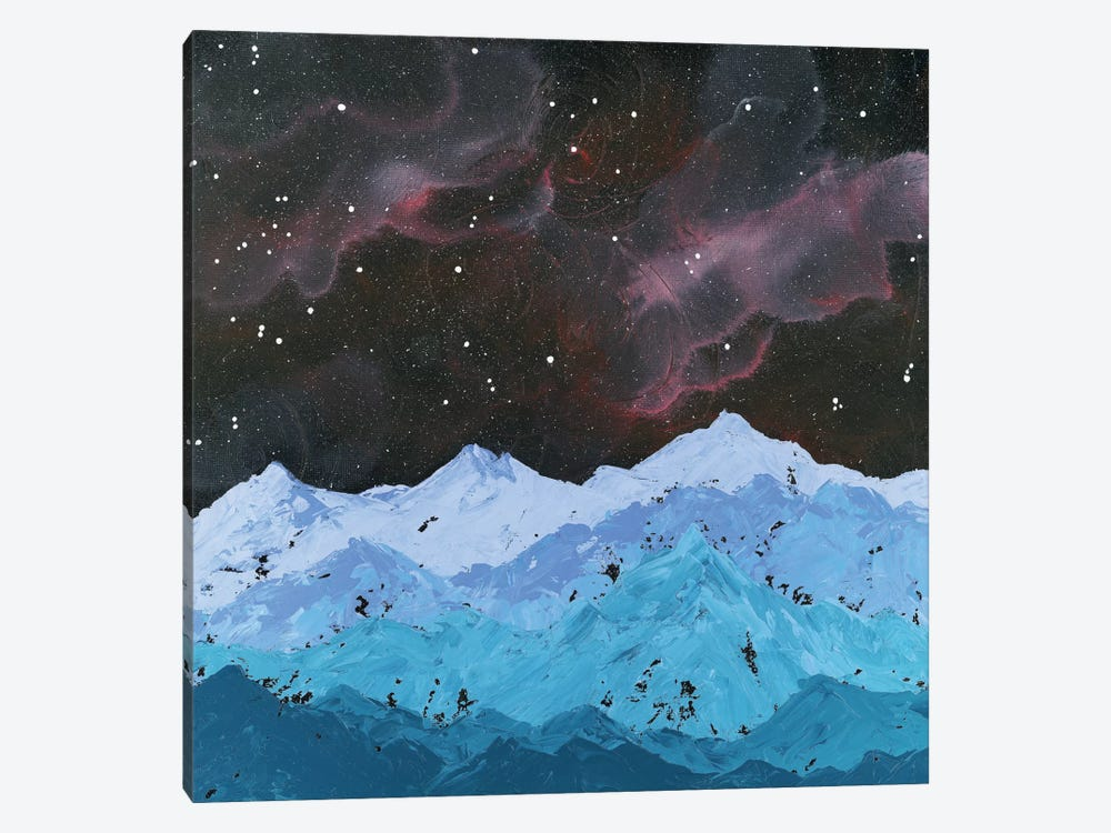 Space Mountains by Emily Magone 1-piece Art Print