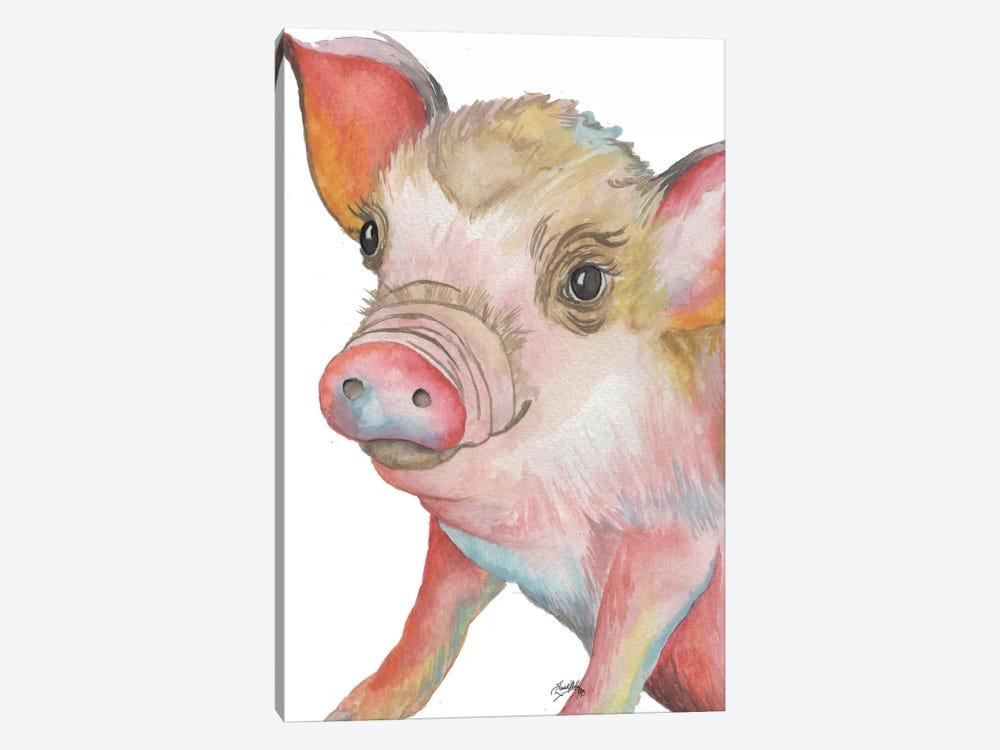 Pig II by Elizabeth Medley 1-piece Art Print