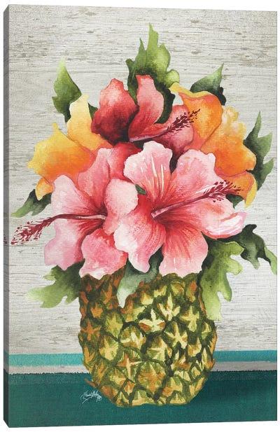 Tropical Bouquet Canvas Art Print