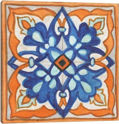 Colorful Tile II Canvas Art Print