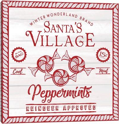 VIntage Christmas Treats I Canvas Art Print
