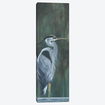 Blue Heron Canvas Print #EME230} by Emily Magone Canvas Wall Art
