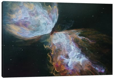 Butterfly Nebula by Emily Magone Canvas Artwork