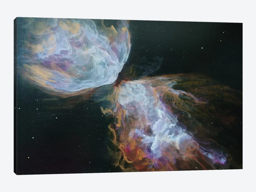 Butterfly Nebula by Emily Magone 1-piece Canvas Wall Art