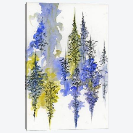 Charcoal Trees Three Canvas Print #EME34} by Emily Magone Canvas Art Print