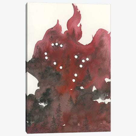 Gemini Canvas Print #EME36} by Emily Magone Canvas Art Print