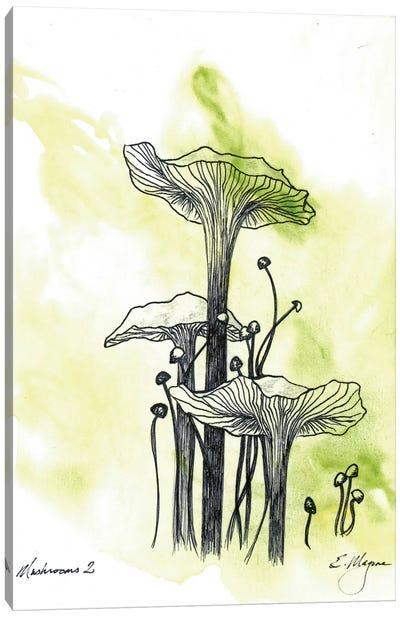 Mushrooms Two Canvas Art Print