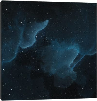 Nebula Three Middle Canvas Art Print