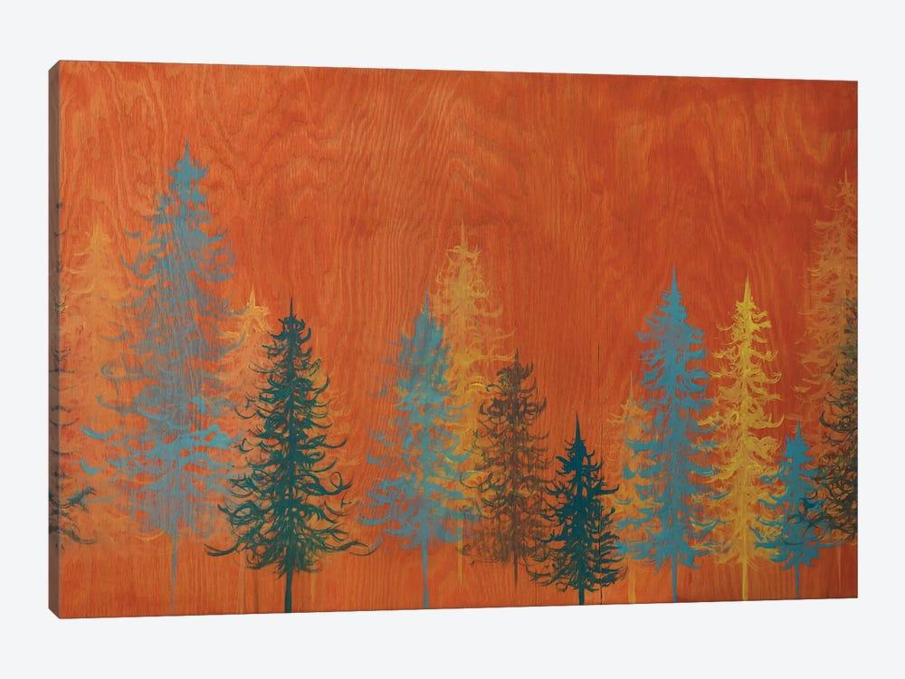 Orange Trees by Emily Magone 1-piece Canvas Artwork
