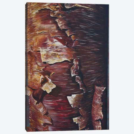 Peel Canvas Print #EME51} by Emily Magone Canvas Artwork