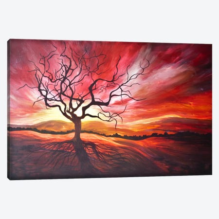 Sunrise Canvas Print #EME65} by Emily Magone Canvas Art