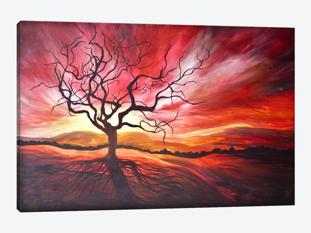 Sunrise by Emily Magone 1-piece Canvas Artwork