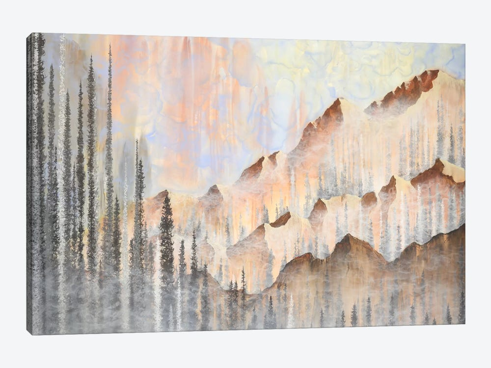 Afterburn by Emily Magone 1-piece Canvas Print