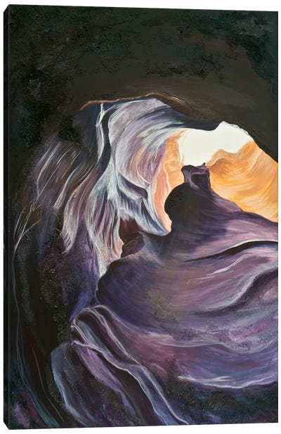 Antelope Canyon II Canvas Print #EME67