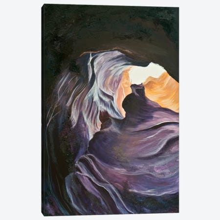 Antelope Canyon II Canvas Print #EME67} by Emily Magone Canvas Artwork