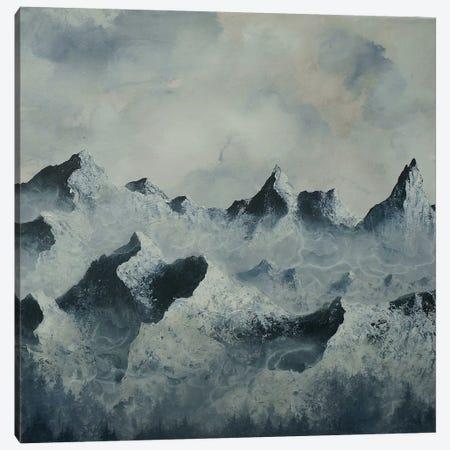 Backyard Triptych Panel II Canvas Print #EME70} by Emily Magone Canvas Wall Art