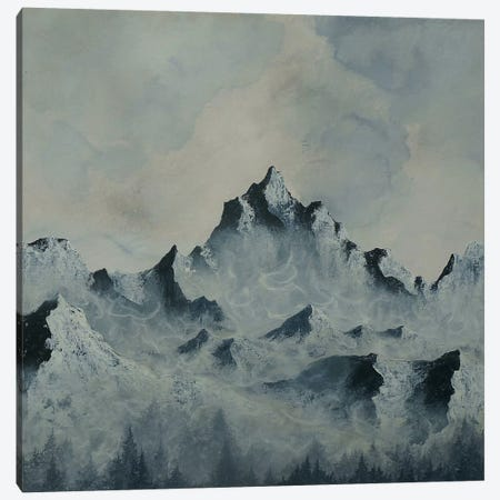 Backyard Triptych Panel III Canvas Print #EME71} by Emily Magone Canvas Wall Art