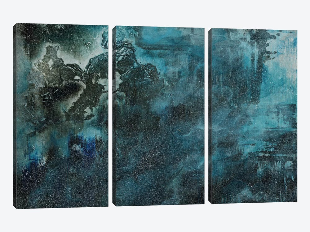 Releasing Aurora by Emily Magone 3-piece Canvas Art Print