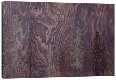 Purple Trees Canvas Print #EME7