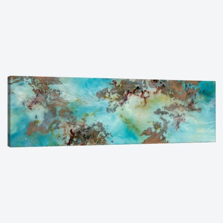 Burst Canvas Print #EME92} by Emily Magone Canvas Artwork