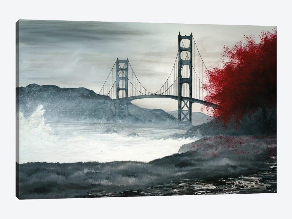 Golden Gate Bridge by Emily Magone 1-piece Canvas Wall Art