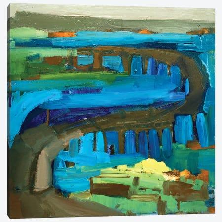 Bridge I Canvas Print #EMF10} by Erin McGee Ferrell Art Print