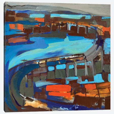 Bridge II Canvas Print #EMF11} by Erin McGee Ferrell Canvas Art Print