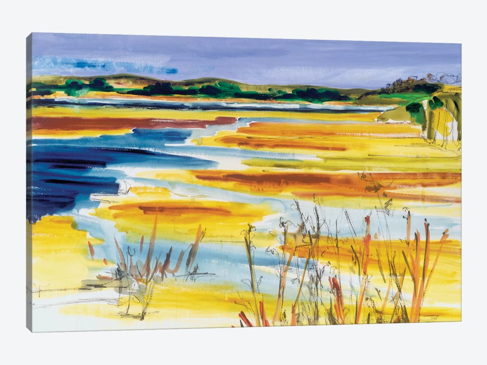 Bright Marsh I by Erin McGee Ferrell 1-piece Canvas Wall Art