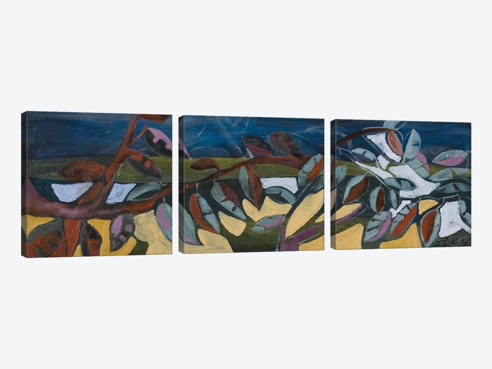 Leaf Panel I by Erin McGee Ferrell 3-piece Canvas Art
