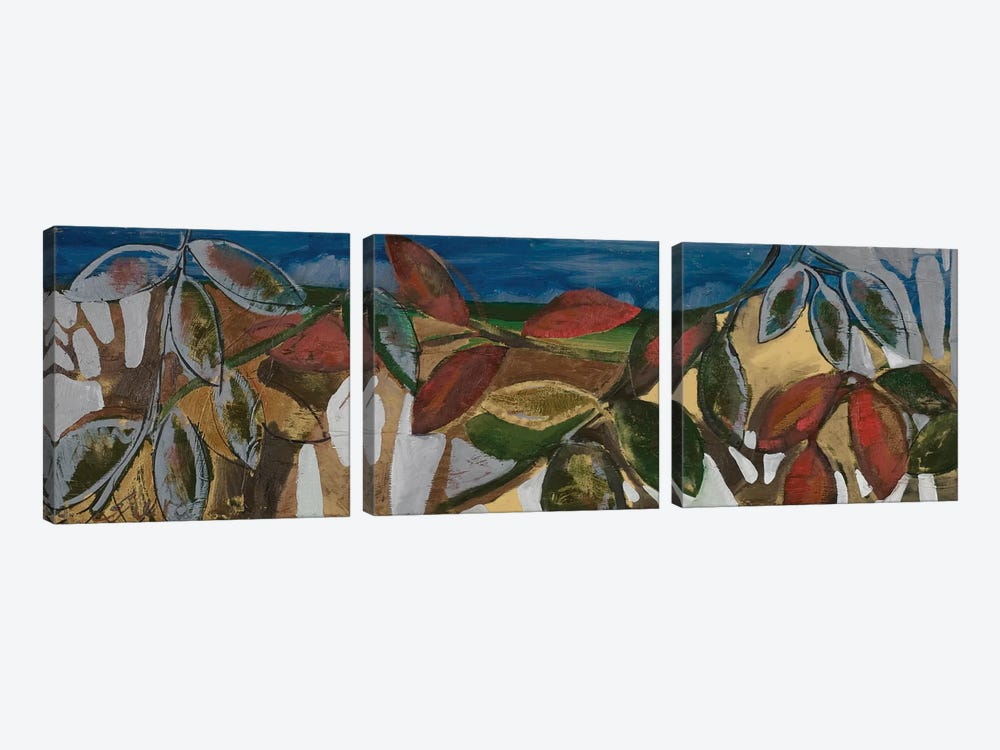 Leaf Panel II by Erin McGee Ferrell 3-piece Canvas Art Print
