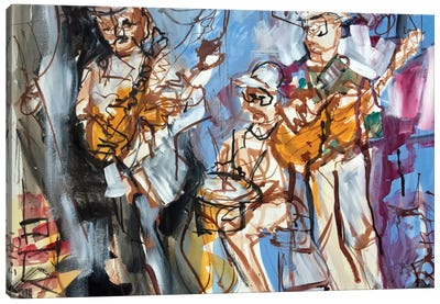 New Orleans Musicians I Canvas Art Print