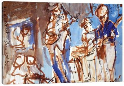 New Orleans Musicians II Canvas Art Print