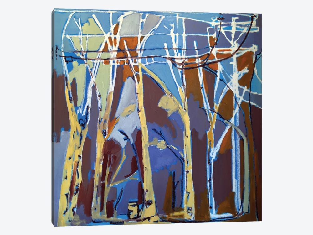 Trees & Wires II by Erin McGee Ferrell 1-piece Art Print