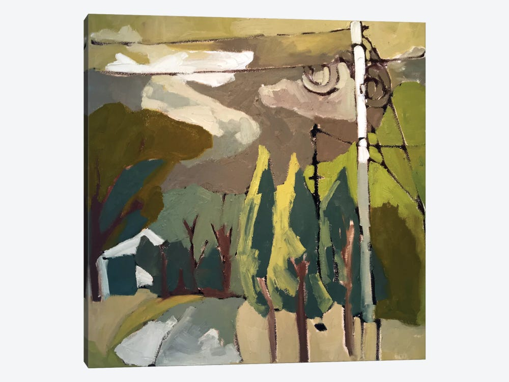 Trees & Wires IX by Erin McGee Ferrell 1-piece Canvas Art