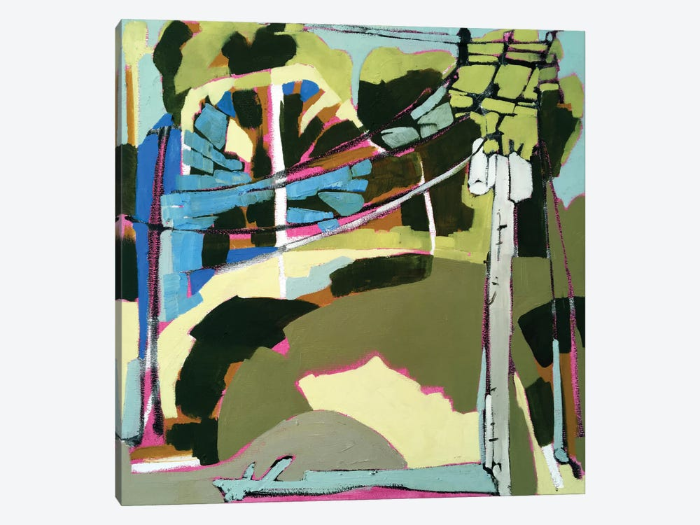 Trees & Wires VI by Erin McGee Ferrell 1-piece Art Print
