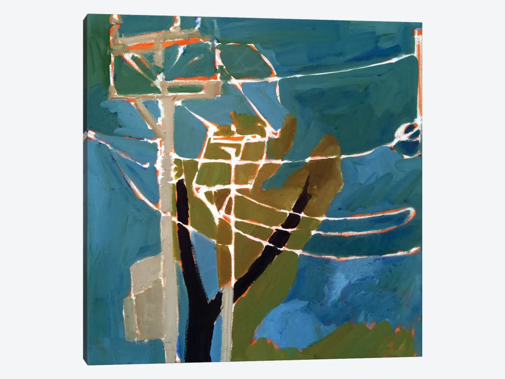 Trees & Wires VII by Erin McGee Ferrell 1-piece Canvas Wall Art