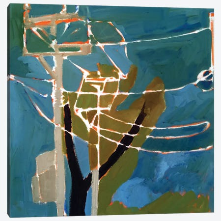 Trees & Wires VII Canvas Print #EMF32} by Erin McGee Ferrell Art Print