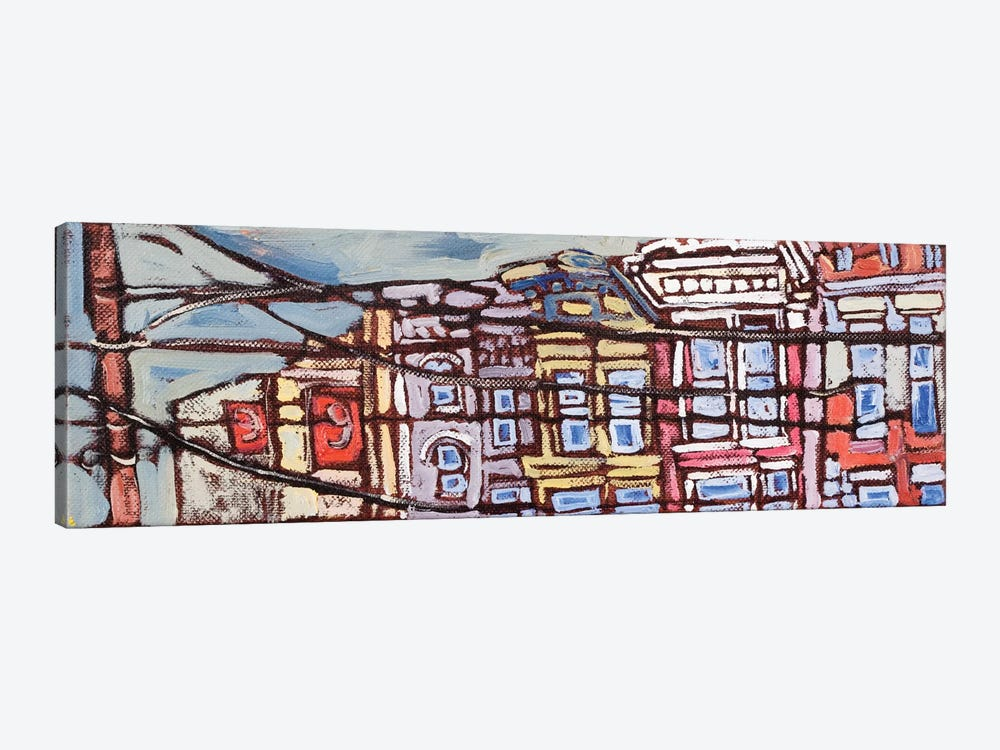 Urban Wires I by Erin McGee Ferrell 1-piece Art Print