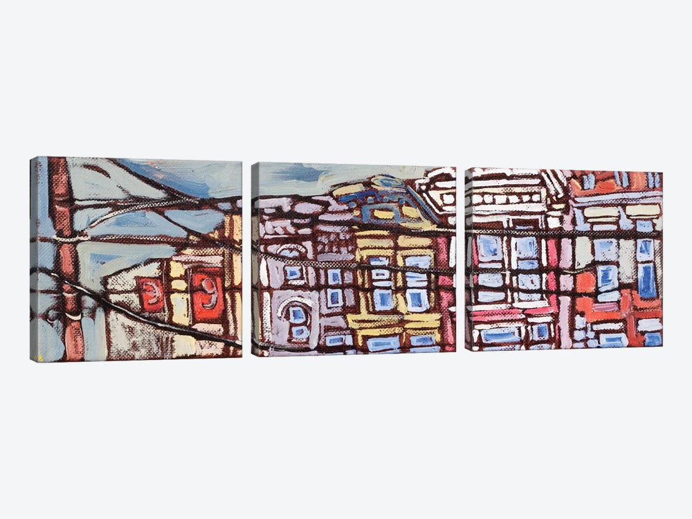 Urban Wires I by Erin McGee Ferrell 3-piece Art Print