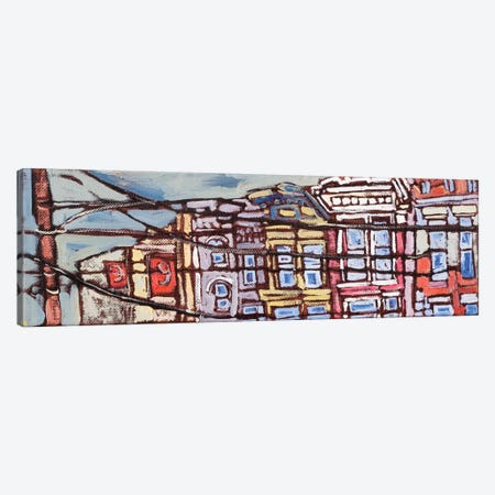 Urban Wires I Canvas Print #EMF35} by Erin McGee Ferrell Canvas Artwork