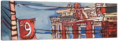 Urban Wires III Canvas Art Print