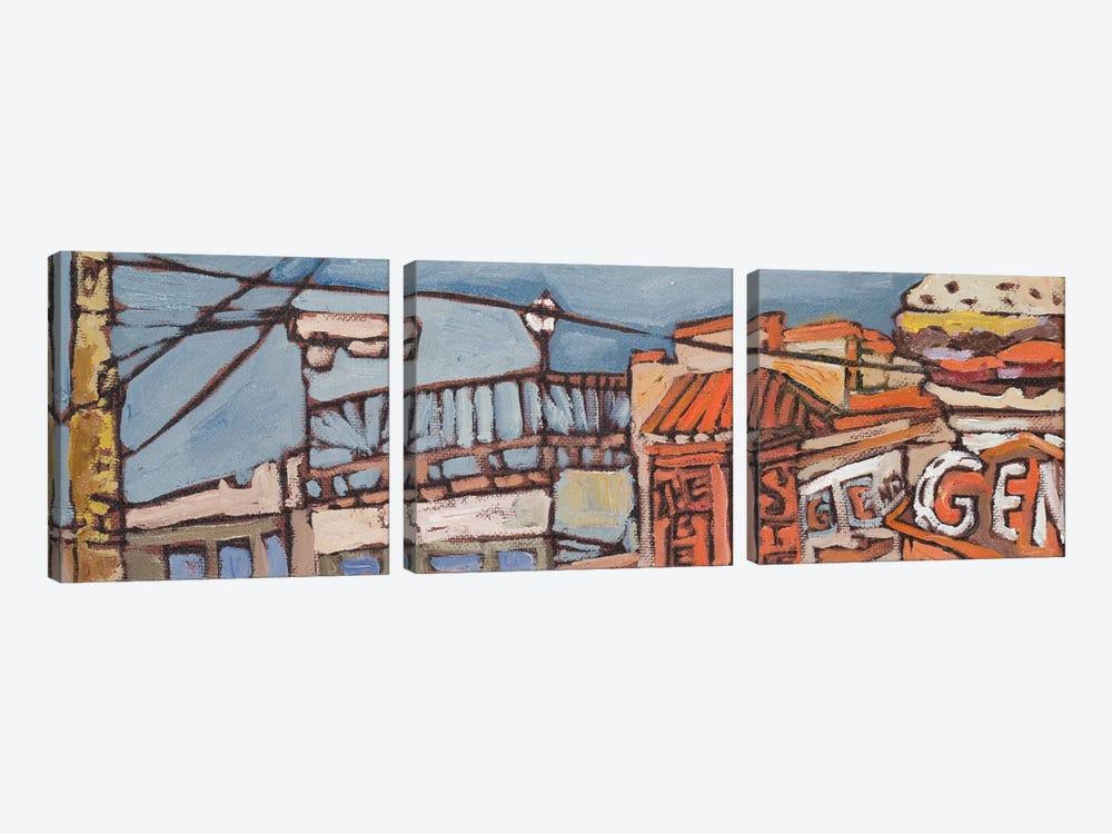Urban Wires V by Erin McGee Ferrell 3-piece Art Print