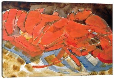 Abstract Lobster III Canvas Art Print