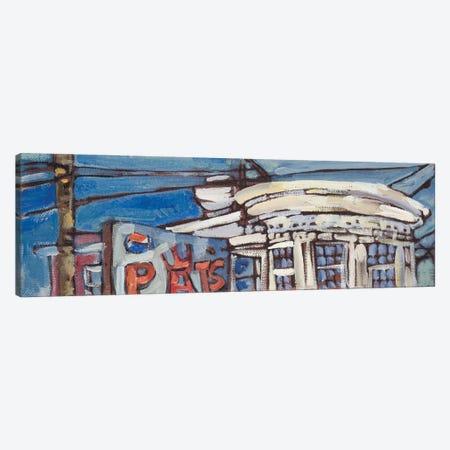 Urban Wires VI Canvas Print #EMF40} by Erin McGee Ferrell Canvas Wall Art