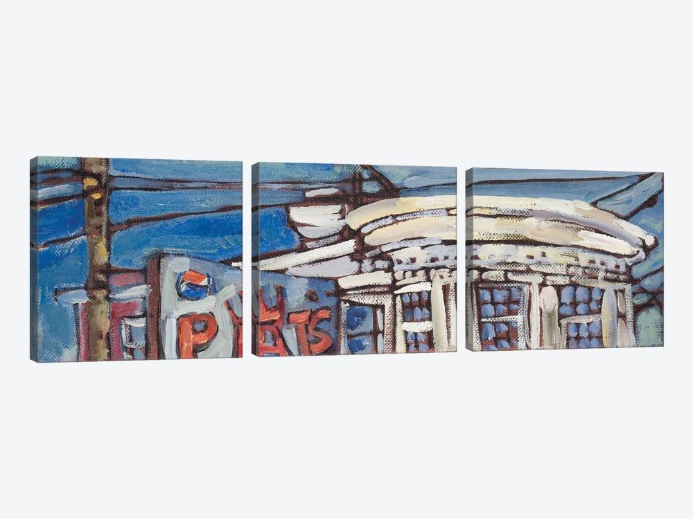 Urban Wires VI by Erin McGee Ferrell 3-piece Canvas Art Print