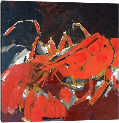 Abstract Lobster IV Canvas Art Print
