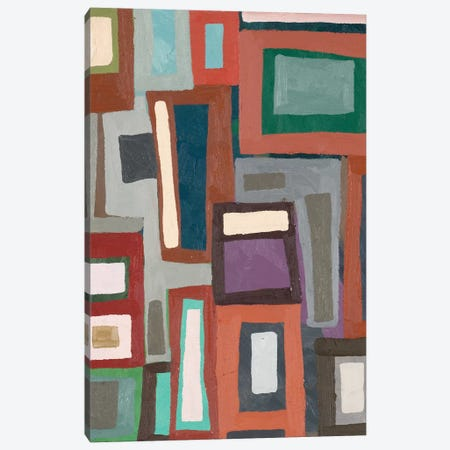 Color Blocking I Canvas Print #EMF53} by Erin McGee Ferrell Art Print