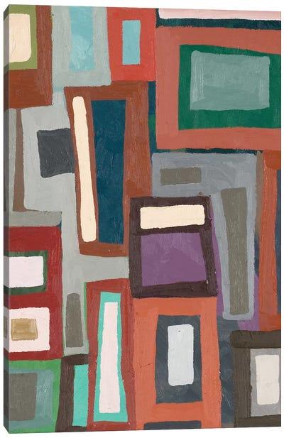 Color Blocking I Canvas Art Print